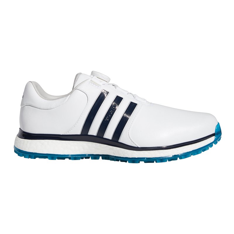 Tender equipo vegetariano  Adidas Tour 360 XT-SL BOA Spikeless Men's Shoes (White/Blue)
