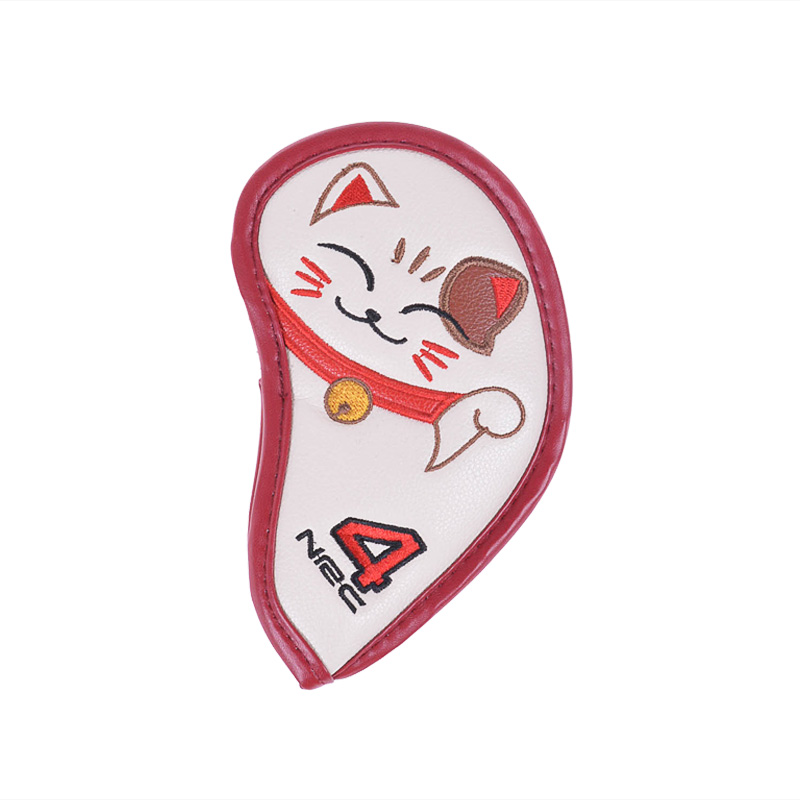 General Item Barudan Lucky Cat Iron Cover 9pcs (white) Not Applicable