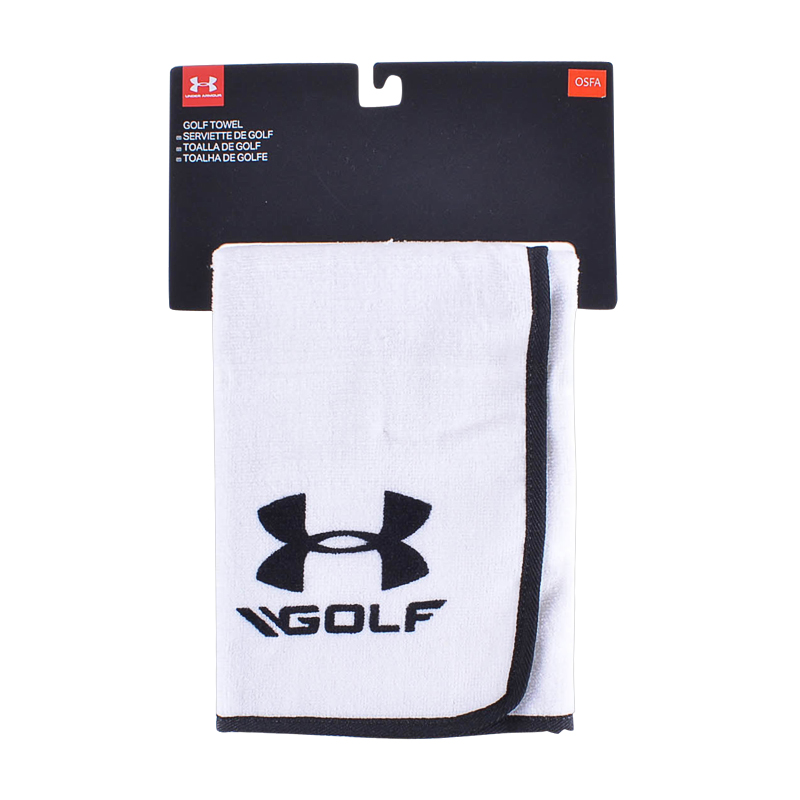 Under Armour Golf Towel (wht/blk) Not Applicable