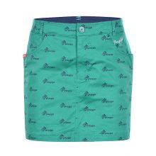 Le Coq Sportif Golf Seasonal Print Women's Skort (Green)
