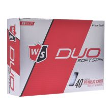 Wilson Duo Soft Spin (2018) Golf Ball Not Applicable