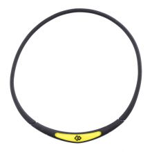 Colantotte Flex Neck Necklace (Black/Yellow)