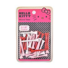 Hello Kitty Wood Tee 2 1/8 Inch (30pcs) Women