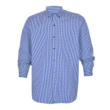 Cutter & Buck Anchor Gingham Tailored Ls Shirt Men