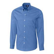 Cutter & Buck Nailshead Woven Tailored Fit Ls Shirt Men