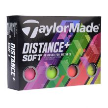 Taylormade Distance + Soft (2019) (colour) Golf Ball Not Applicable