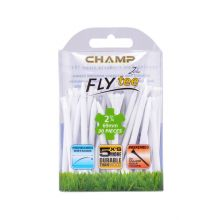 Champ 2 3/4 Inch (wht) Fly Tee (30pcs) Not Applicable