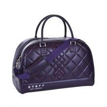 Onoff Sporty Women's Boston Bag (purple/white) Women