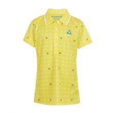 Le Coq Sportif Golf Coolist Hansode Women's Polo (yellow) Women