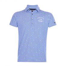 Le Coq Sportif Golf Men's Polo (Blue)