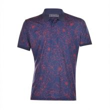 Gfore Outlined Floral Polo (twilight) Men