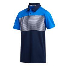 Adidas Engineered Stripe Jnr Polo Junior