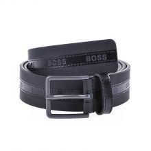 Hugo Boss Ther-g-logo Belt (black) Men