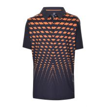 Bell & Page Poly Spdx Print Jr Polo Junior